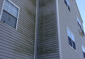 Soft Pressure Washing System fro Apartment Buildings